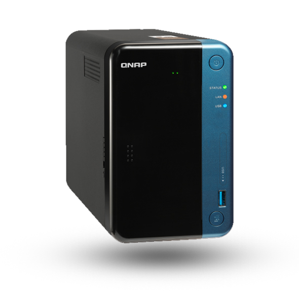 NAS BOX QNAP TS-253BE, 4GB, CELERON